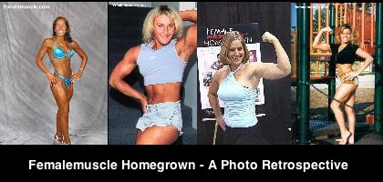 Femalemuscle Homegrown a Photo Retrospective