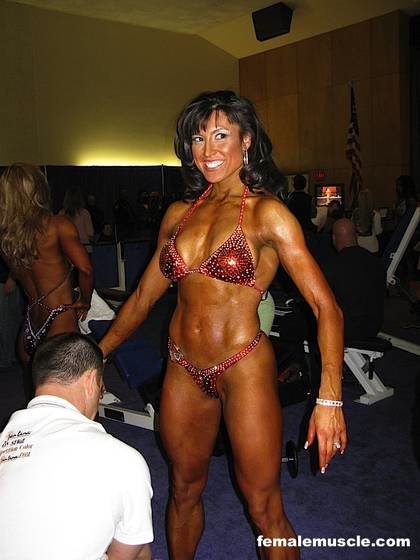 Arnold 2008 Womens Figure Finals Backstage 3