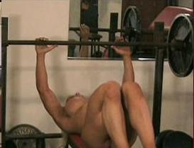 "nude-workout.JPG image via shemuscleraw.com. No women showed up for ""Naked ..."